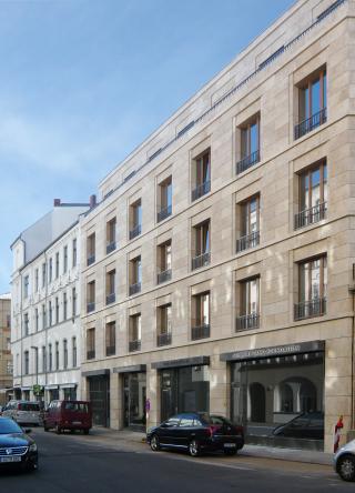 Schirner Zang Foundation, Auguststraße 6, 10117 Berlin. Bild: © Thomas von Thaden