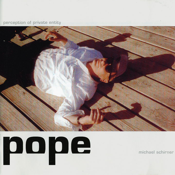 POPE, Pop-CD von Michael Schirner, 1999, Cover, © Michael Schirner