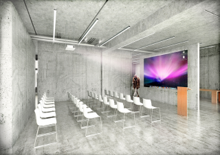 © Schirner Zang Foundation, Auguststraße 6, 10117 Berlin. Simulation: Robert Tzscheutschler