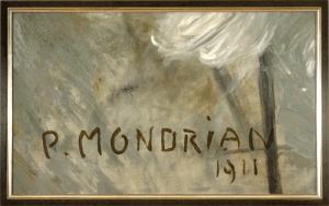 Michael Schirner, Kisuaheli neumix, ohne Titel (Mondrian)